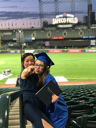 Siena and Ian Graduation 2018