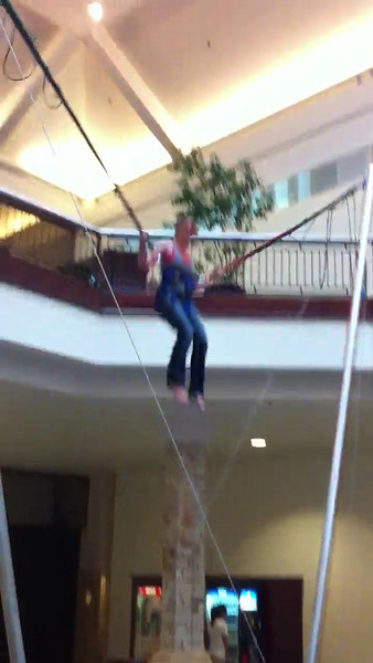 Bungee Bouncing, June 3, 2011