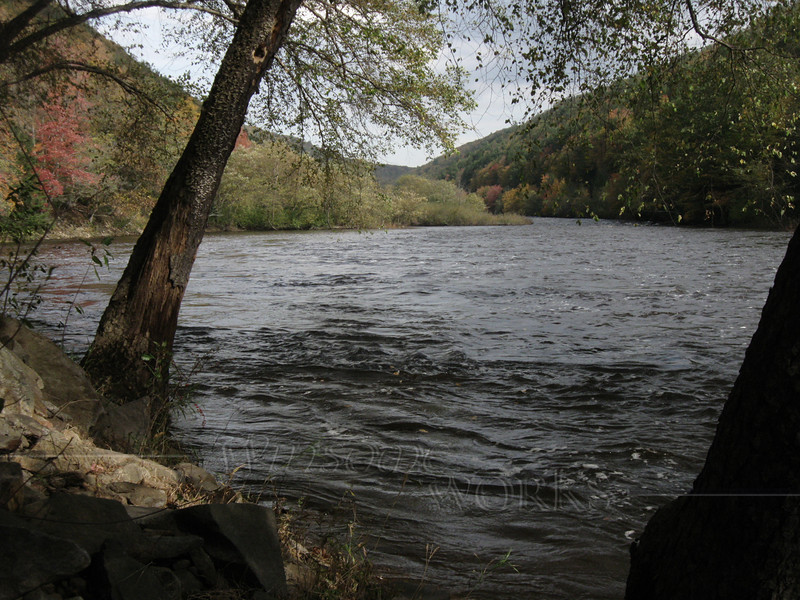 Lehigh River above Jim Thorpe