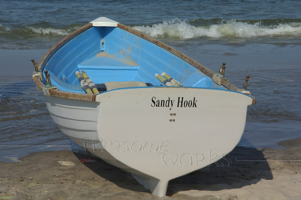 Sandy Hook lifeboat