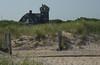 Sandy Hook Visitors' Center seen from beach