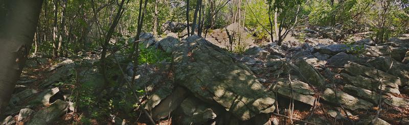 Boulders near Lehigh Furnace Gap