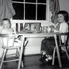 1958 a tea party early one Sunday morning