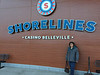 Denise Lantz outside Shorelines Casino Belleville.