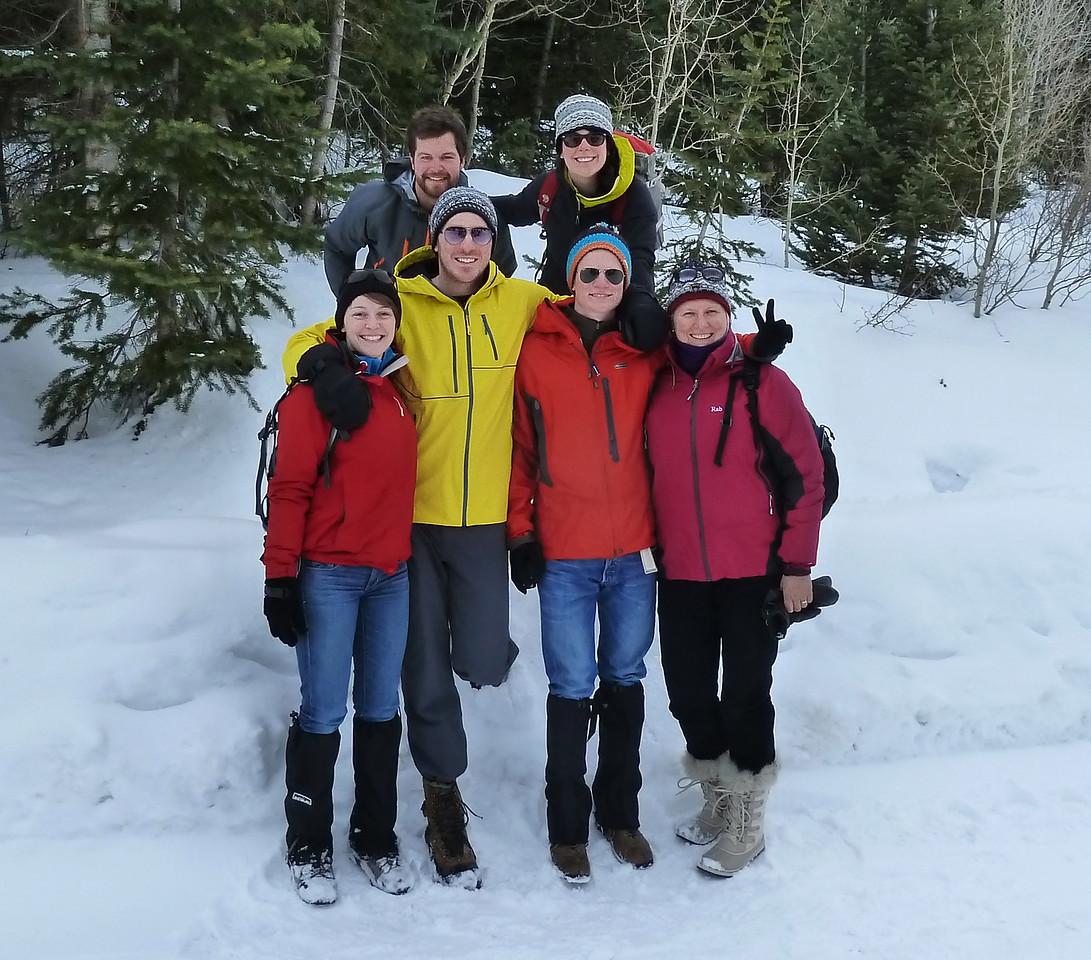 THe hiking team (Rob had to work