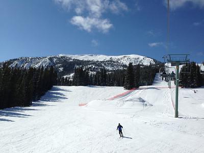 skiing Marmot Jan 2014
