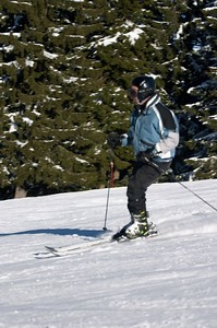 Dad skiing 2