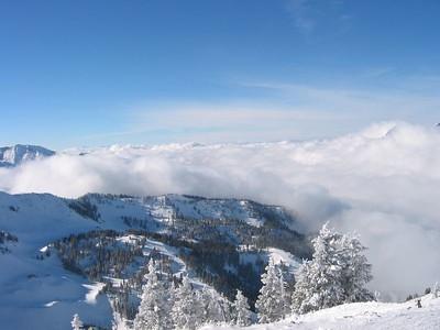 Snowbird Hidden Peak landscape