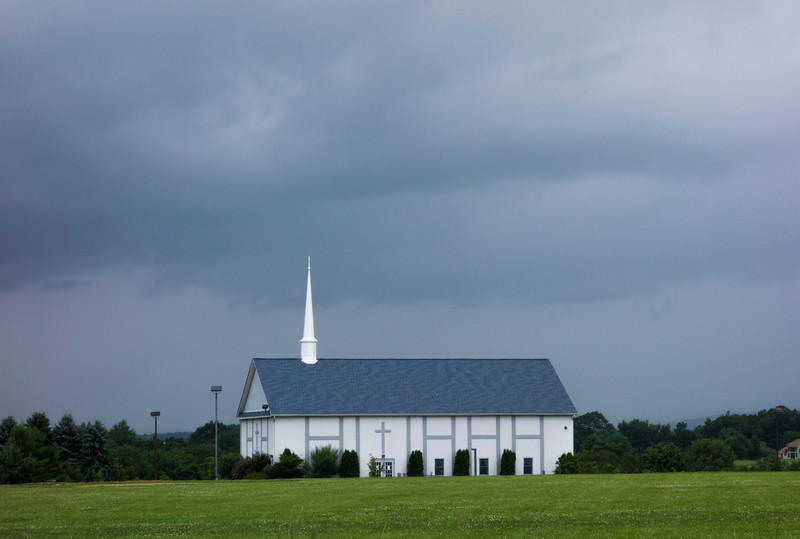 Church on the side of the road. Saw this on the drive to meet my family at Skytop Lodge.