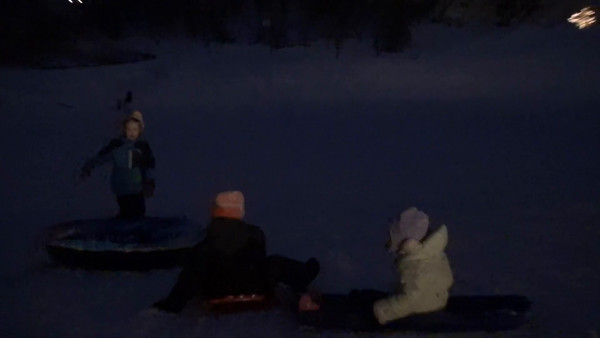 Sledding, December 30th, 31st, 2015