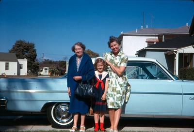Grandma Robinson, Lois, Aunt Alice 1963