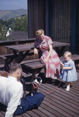 Grandpa & Grandma Turner with Anne