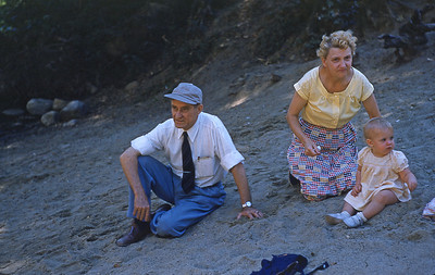 Grandpa & Grandma Turner and Lois