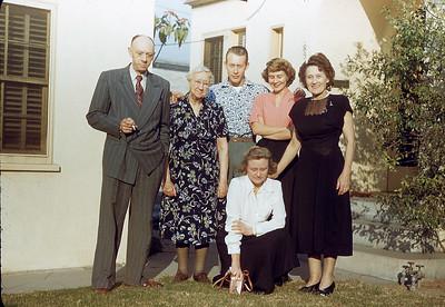 Beckleys and Velma Robinson 1949