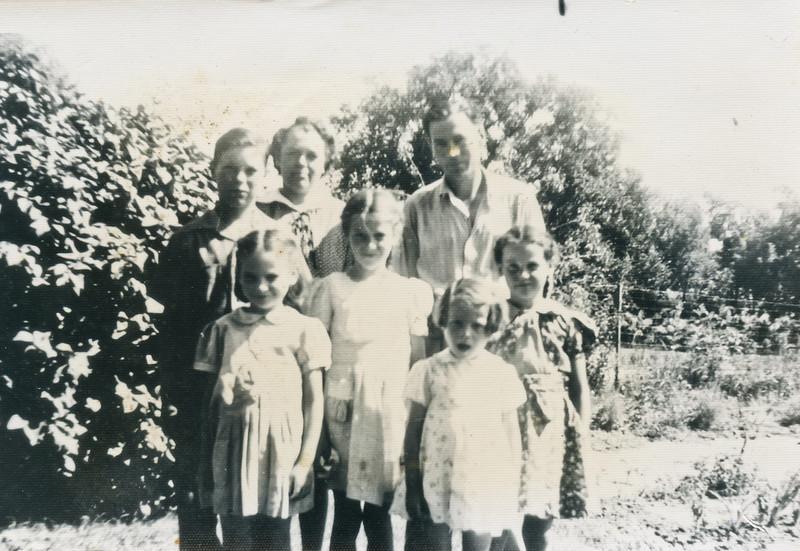 George, Merideth, Loralie, Joyce, and Beverly.