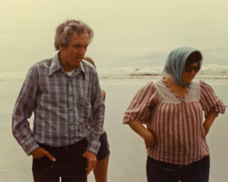 Merideth and John at the Ocean.