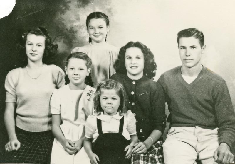 George, Merideth, Loralie, Joyce, Beverly, and Cheryl.
