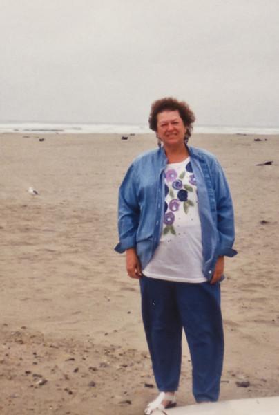 Merideth at Ocean.
