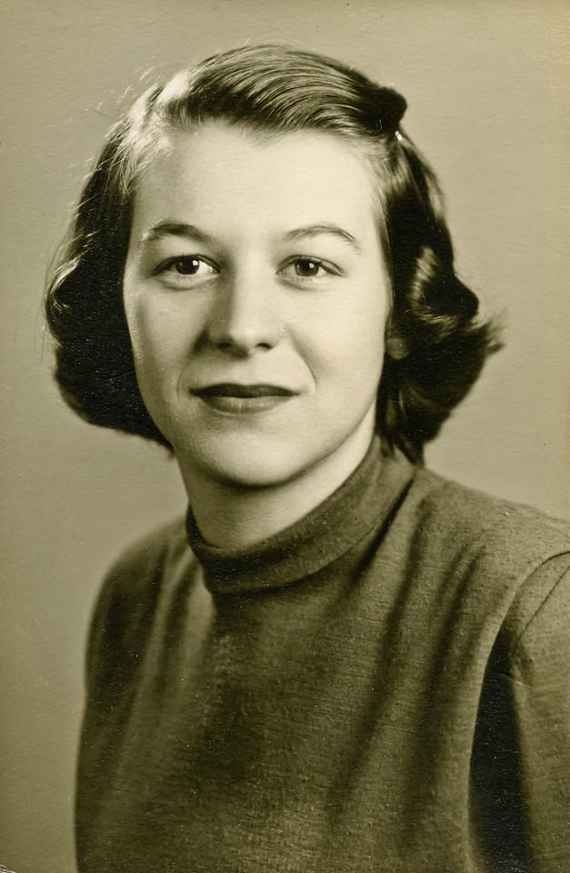 Merideth's senior photo.