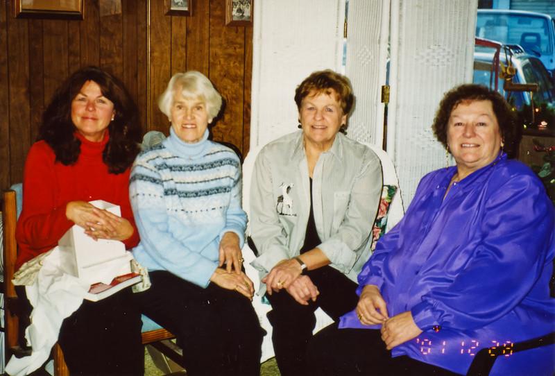 Merideth, Violet, Loralie, and Cheryl.
