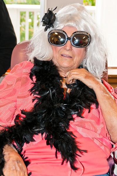 Merideth's last Halloween days before she passed away 2010.