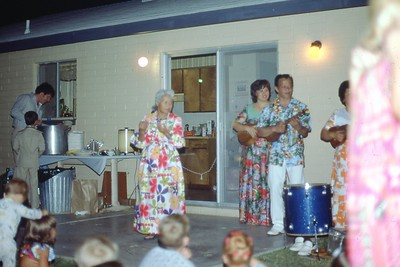 1976 Aug Tia's First Birthday Luau