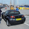Smart Roadster in St. Malo, France on June 7, 2005.