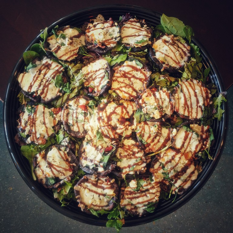 Stuffed Portobellos...
