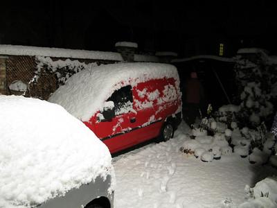 Snow December 2009