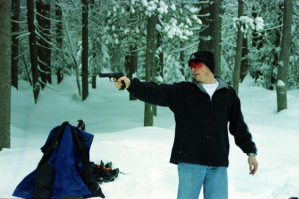 Snow Shooting Trip, February 2003