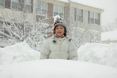 Our neighbor Caroline.
