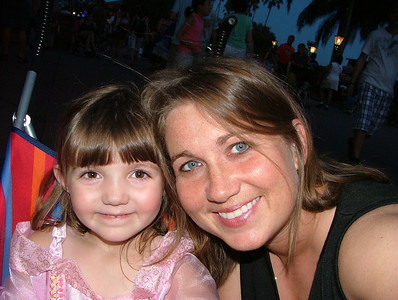 Mia and I at Disney World