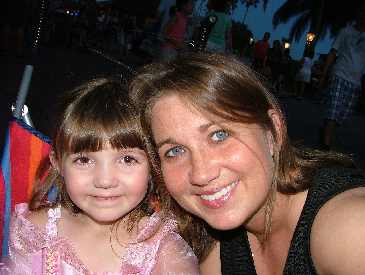 Mia and I at Disney World