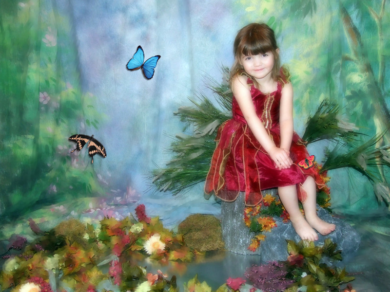Miss Mia- one of my favorite pics of her!  Created with digital image enhancements in Corel Painter IX