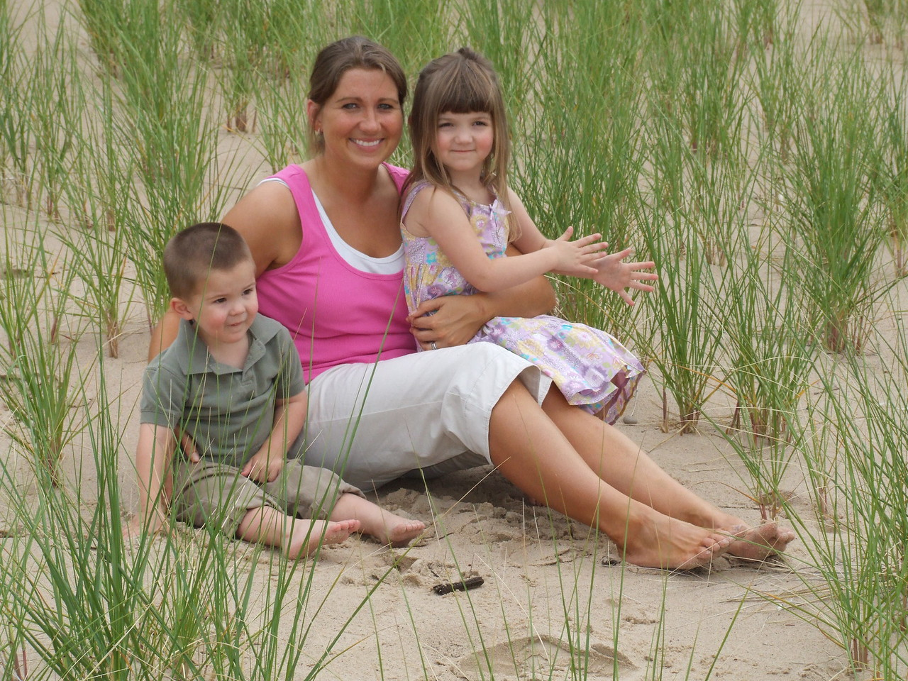 Me and the kids- Summer 2007
