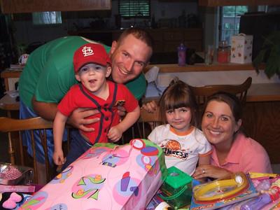 Mia's 4th birthday party- AUG 2007