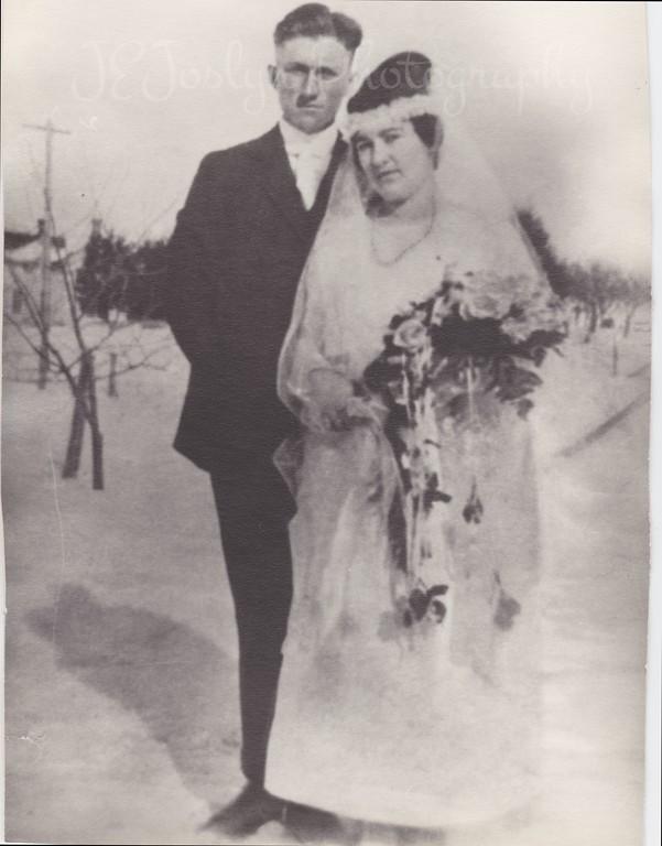 William and Gertrude Kessler (Grandma Gertty), 2-10-1920, Paul Kessler's parents