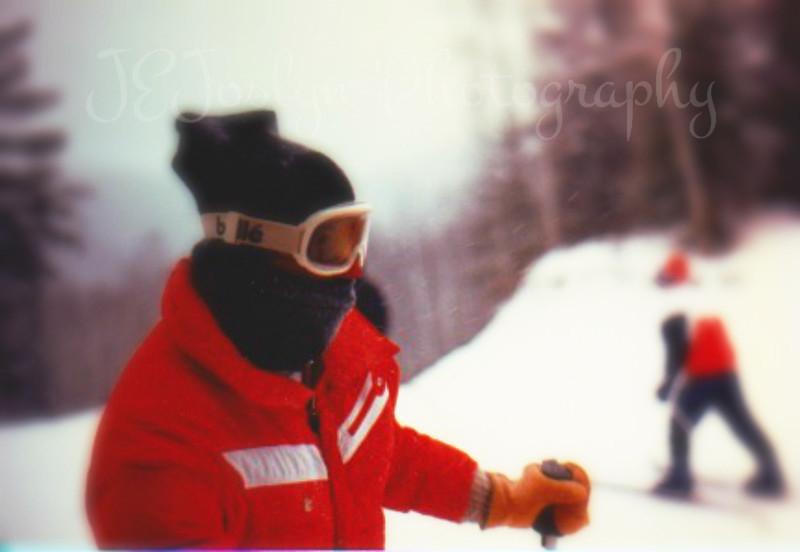 Matt - Lutsen Ski Trip.  Temp way below zero.