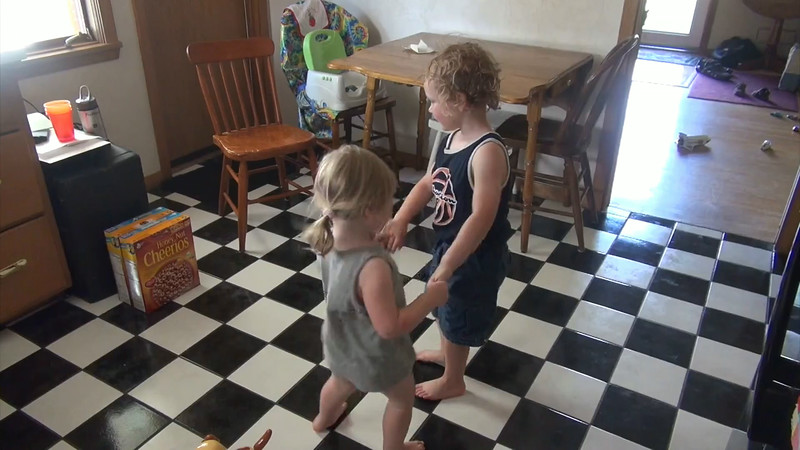 Lexie and Kyle Dancing, July 4, 2014