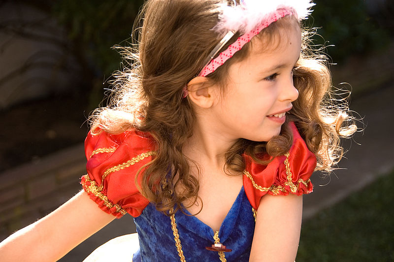 Sophia, shockingly beautiful at four years old
