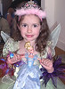 Sophia, ever a true princess, shows us her new Disney Princess Cinderella doll.