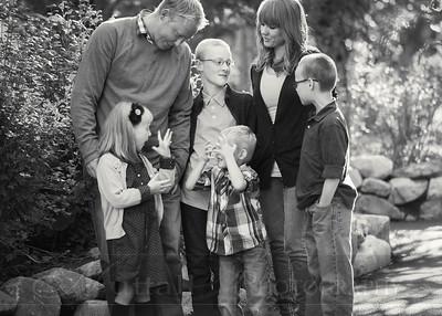 Sorensen Family 11bw