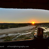 James and Corlia were nice enough to take us out to this incredible overlook just in time to see this sunset.  The iconic coffee mug had to be present of course!  Senalala Game Lodge, South Africa