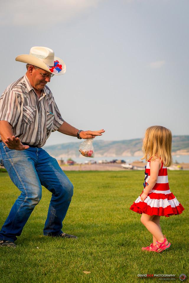Bernie Dancing