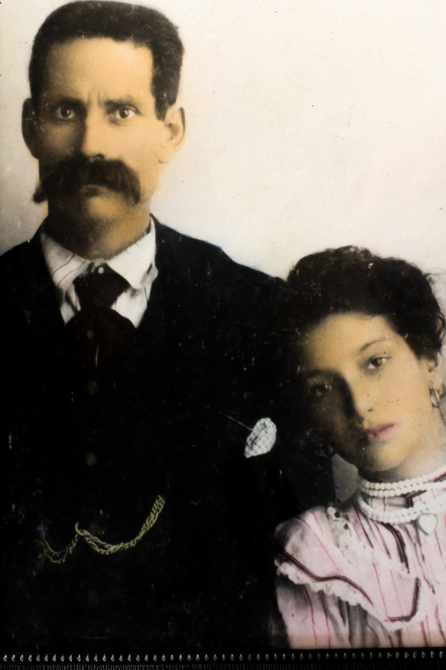 Rosina Dardano Spagnolo and her father Nicola Dardano