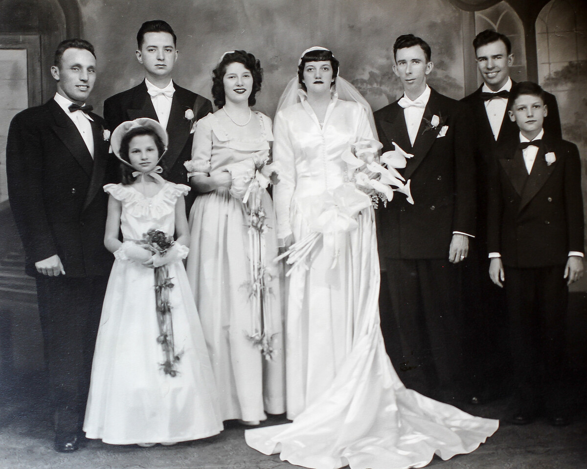 Thomasine Spagnolo Perkins & Harold Perkins Wedding