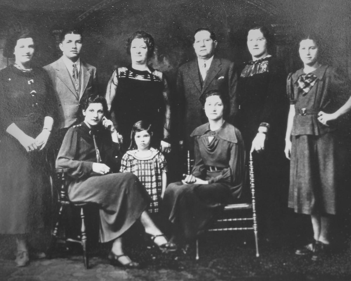 Spagnolo Family 1936