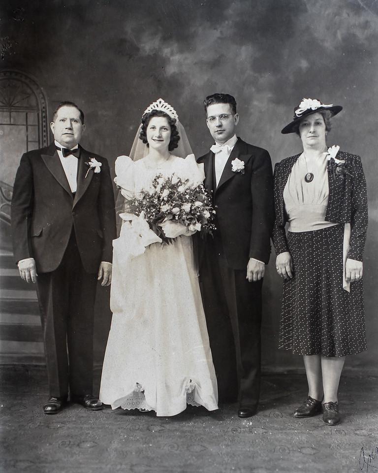 Ann Spagnolo Hawk & Clyde Hawk wedding