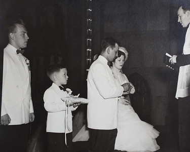 Ben & Margaret's Wedding 6/15/52