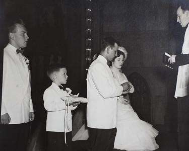 Ben & Margaret's Wedding 6/15/52